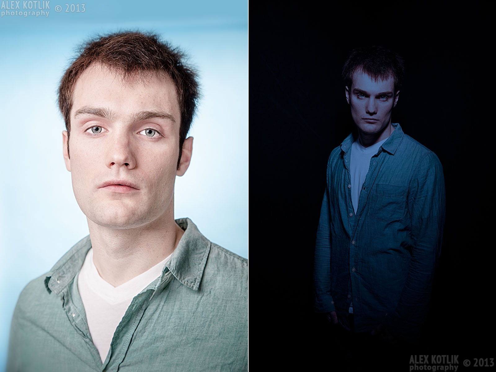 headshot and promotional photography - Tim; studio in Brooklyn, Alex Kotlik photography