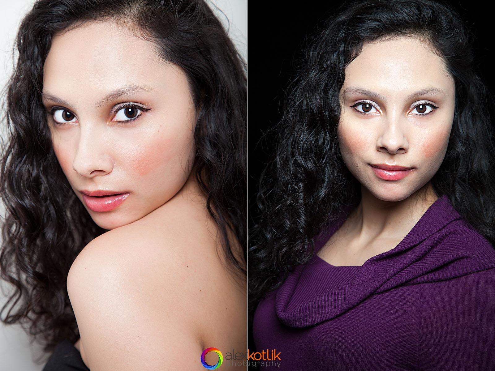 NYC headshots and modeling portfolio - Nina